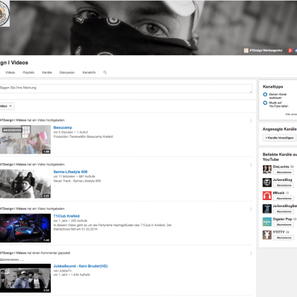 Youtube Kanal 47Design